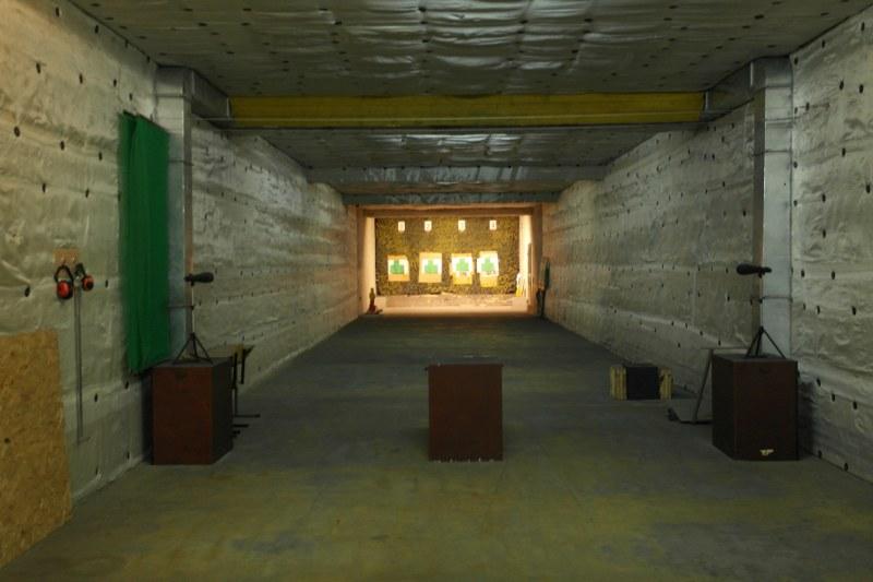 4 стрелковая галерея огневой рубеж 25 метров