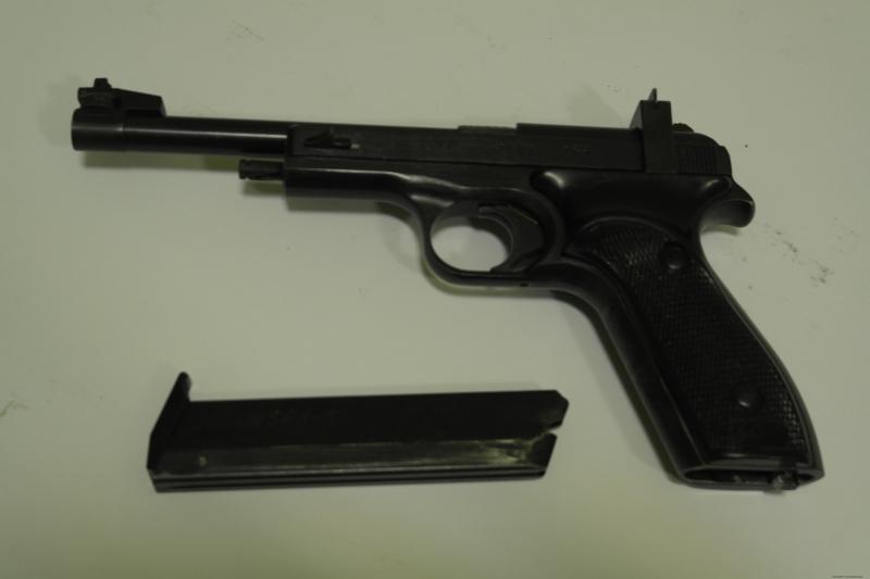 25 Пистолет спортивный МЦ-М