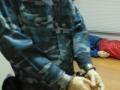 16 Практическая отработка применения наручников